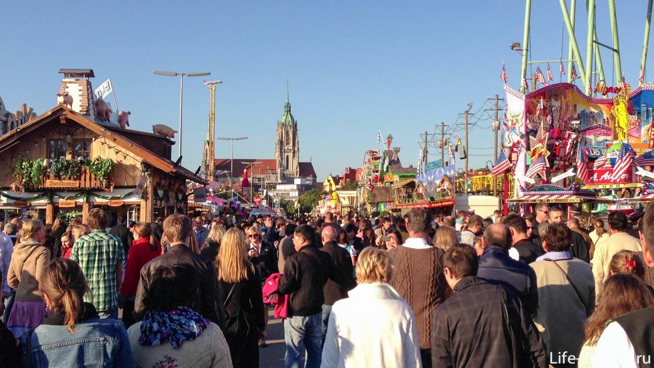 Oktoberfest Luga Teresa  street