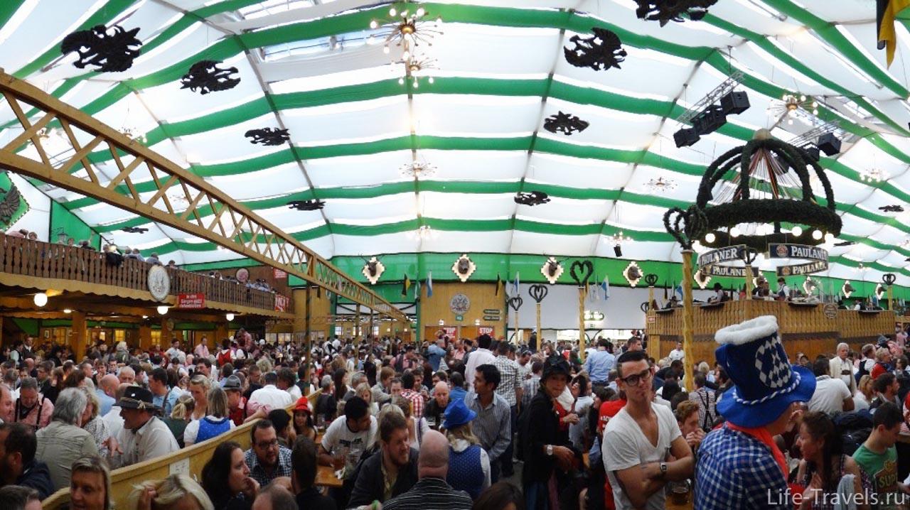 Палатка Die Armbrustschützen-Festhalle
