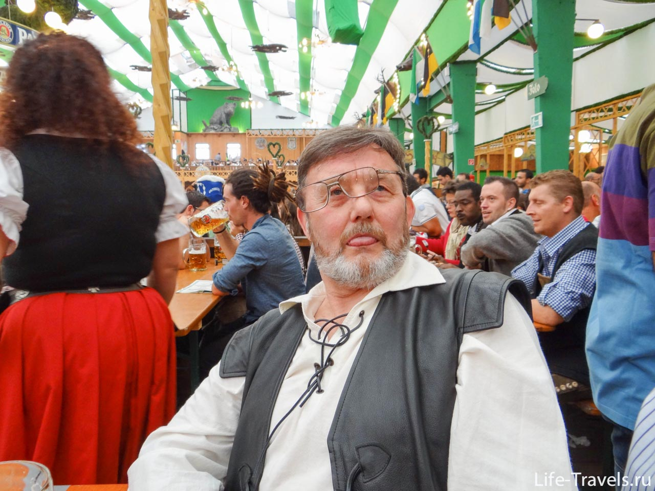 Scotsman at Oktoberfest