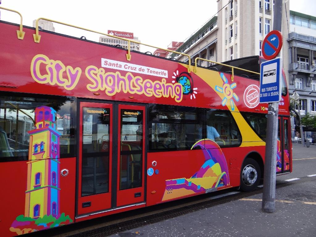 Santa Cruz turistic bus