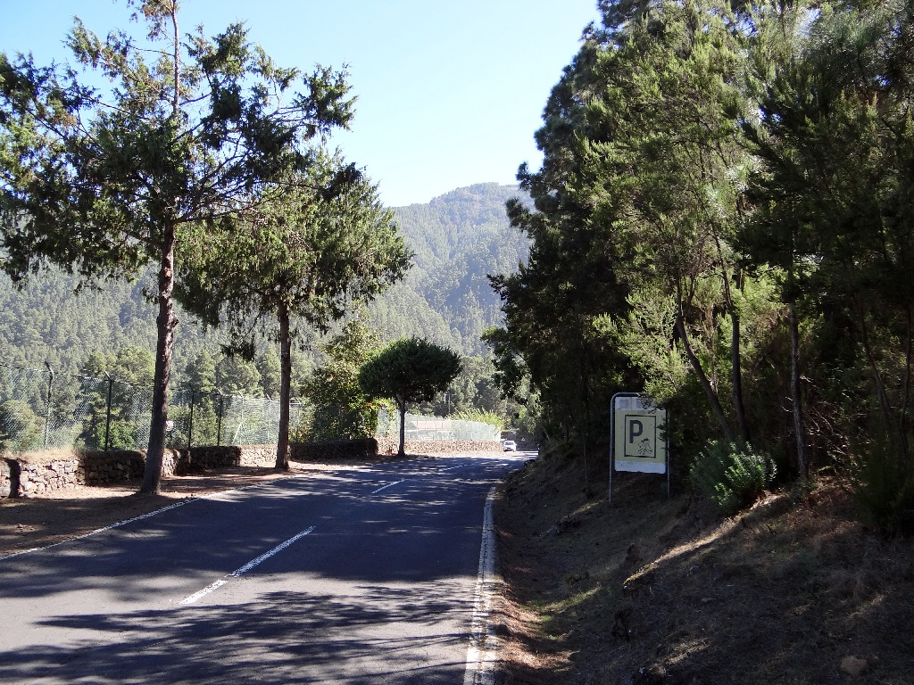 Teide road from North