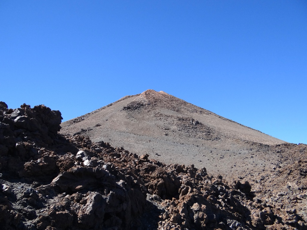 Teide top of the volcano
