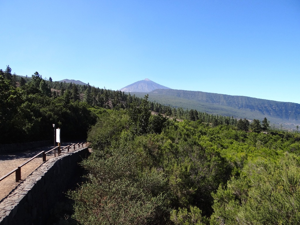 Tiede view from North