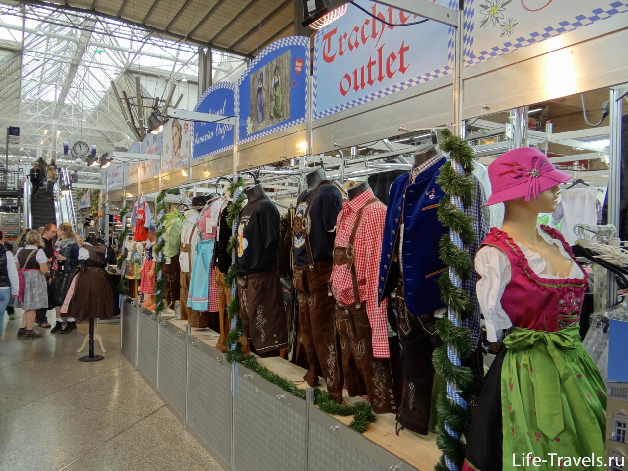 clothing sale Oktoberfest