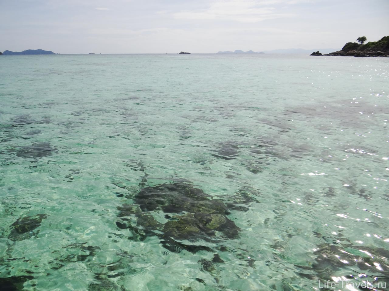 Crystal clear waters Khi Lipe