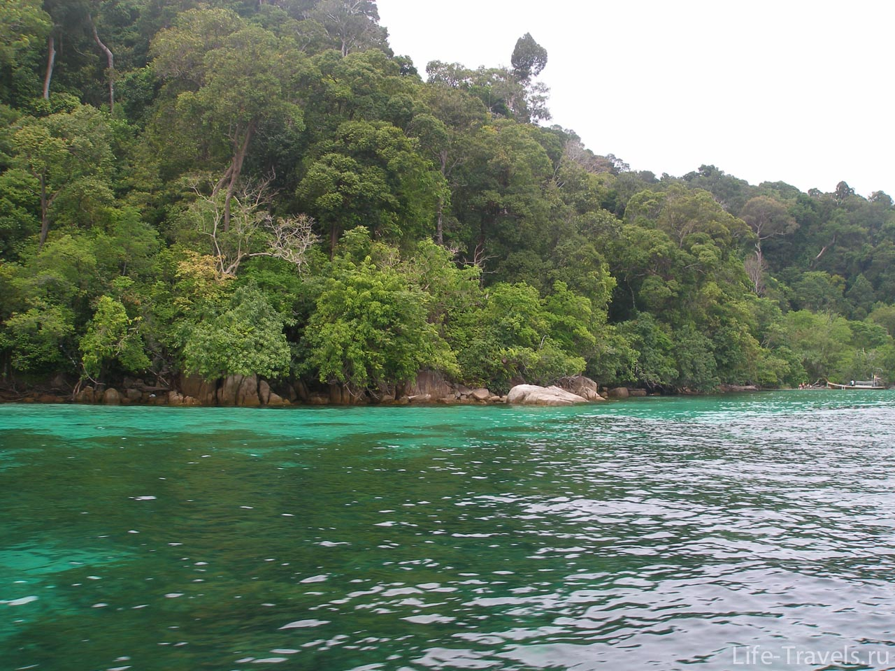 Green Island in the Andaman Sea