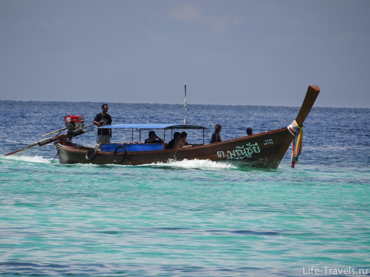 Ko Lipe Thai boat