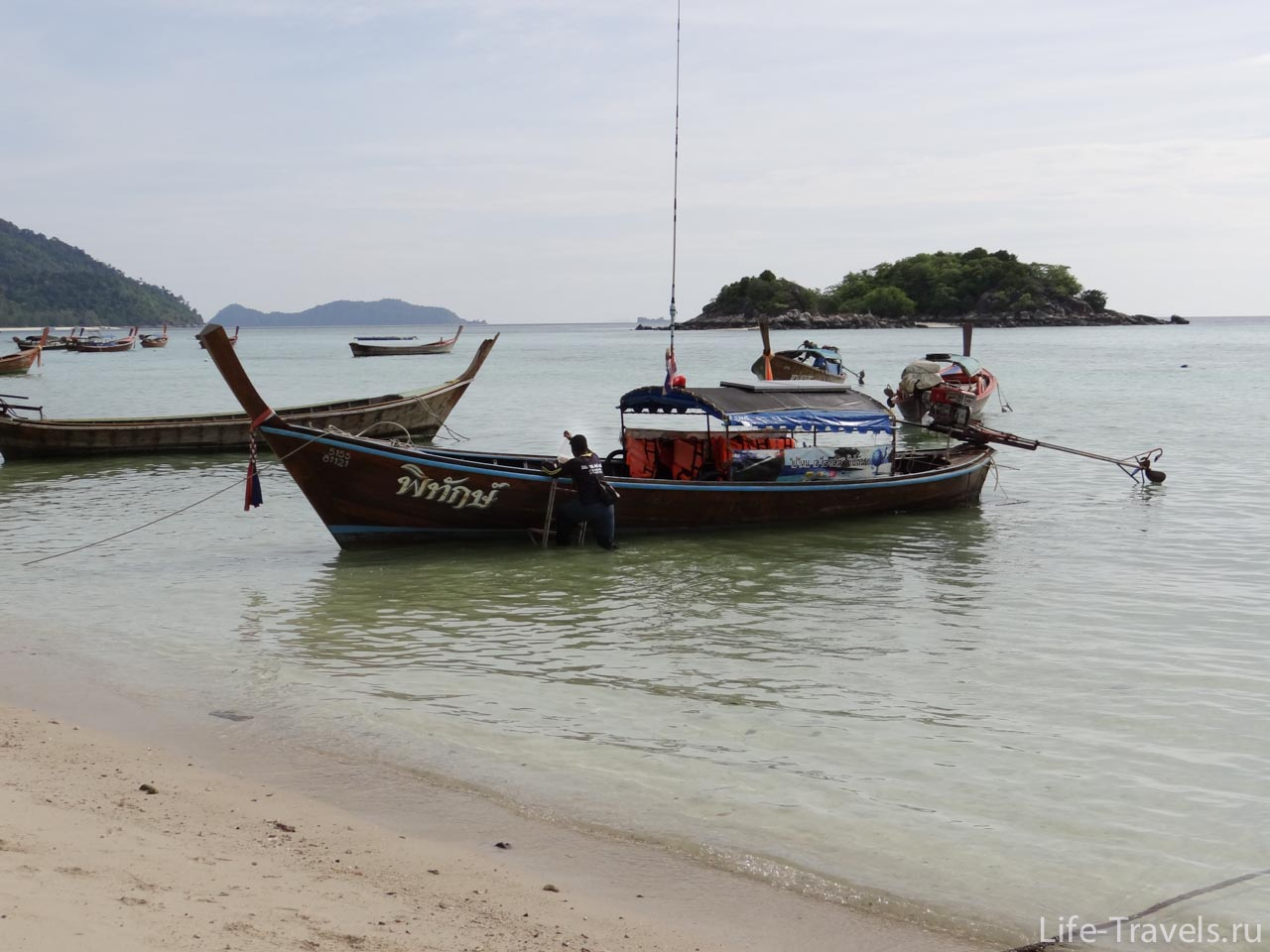 Koh Lipe Thai boath