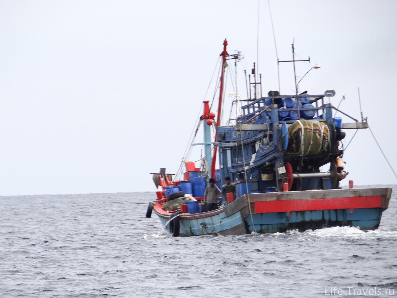 Koh Lipe fisherman