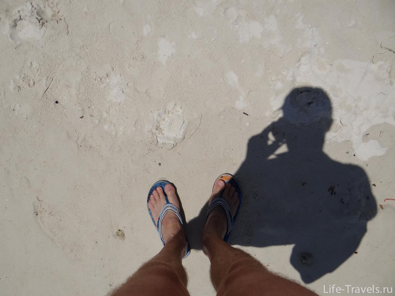 Koh Lipe - sand everywhere