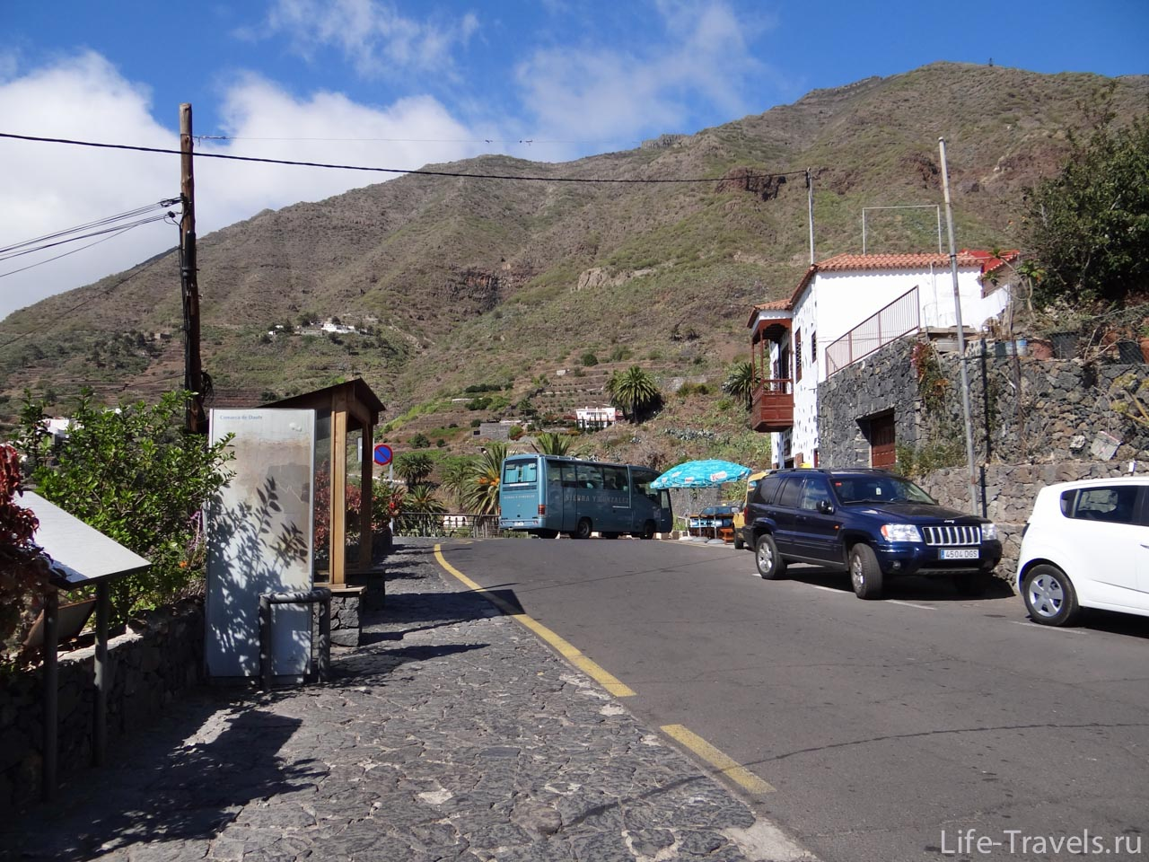Parking Masca Village