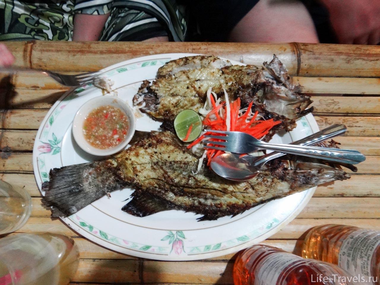 Seafood grill Kho Lipe