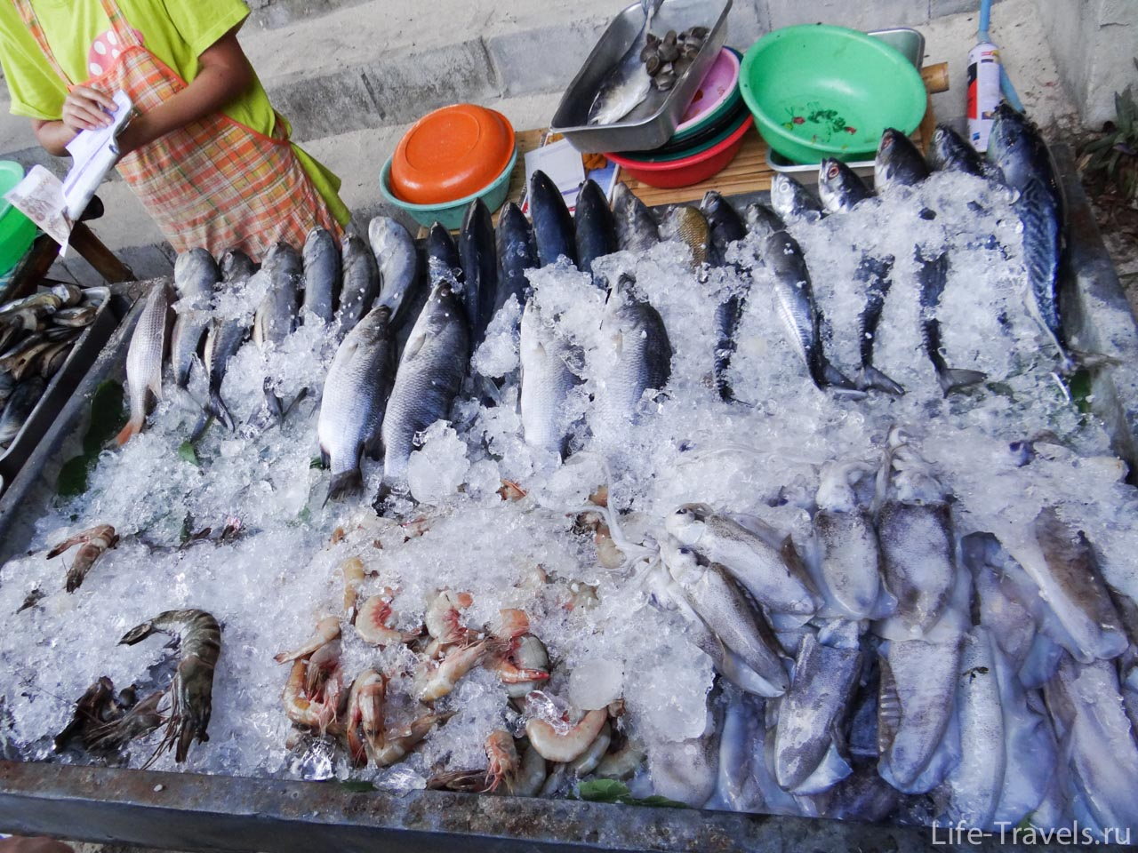 Seafood on Kho Lipe