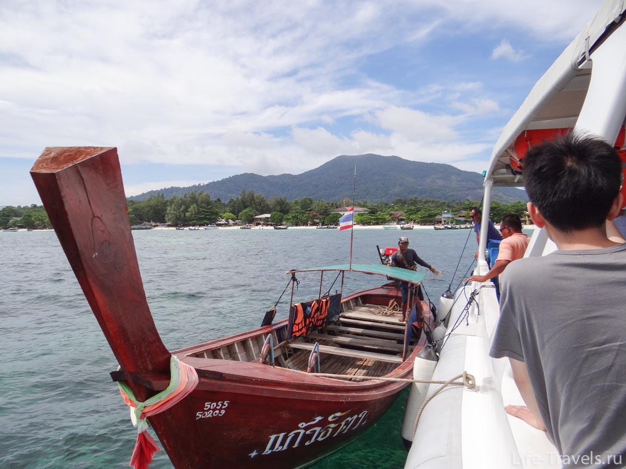 Thai boat Ko Lipe