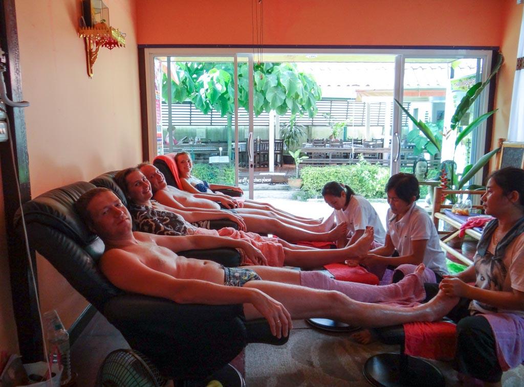 Тайский массаж на Ко Липе