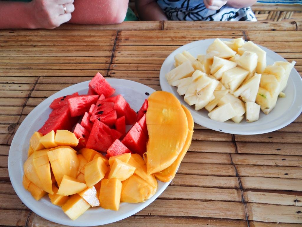 Экзотические фрукты на острове Кох Липе